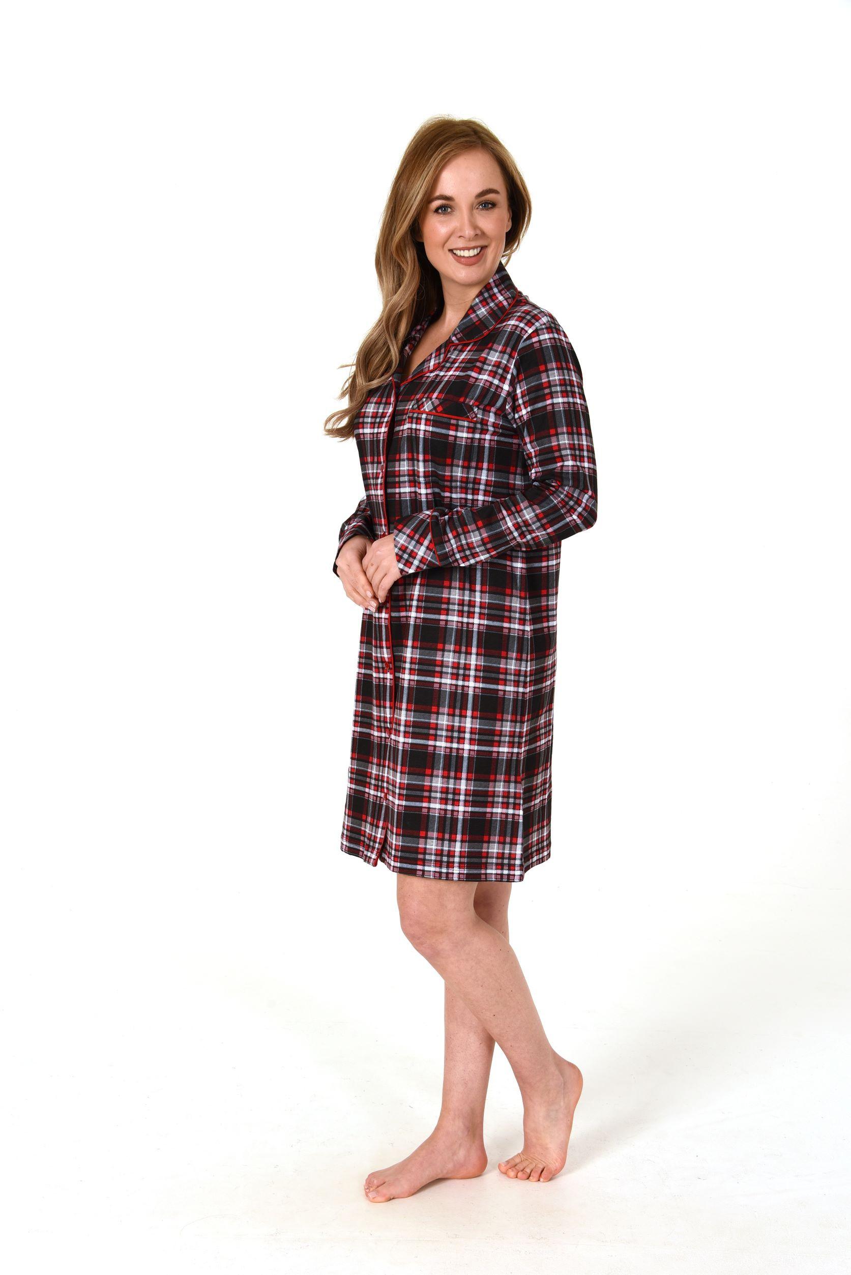 Normann dames nachthemd flanel 90821-XL 48/50