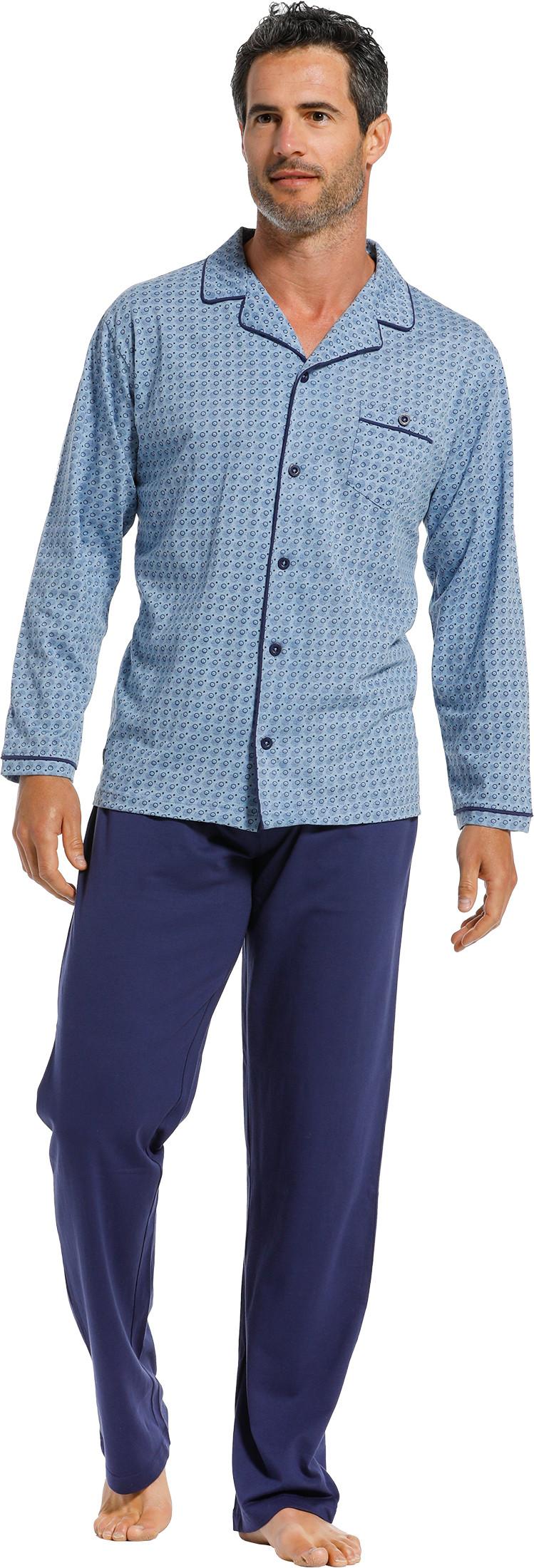 Heren doorknoop pyjama Pastunette 23211-614-6-S/48
