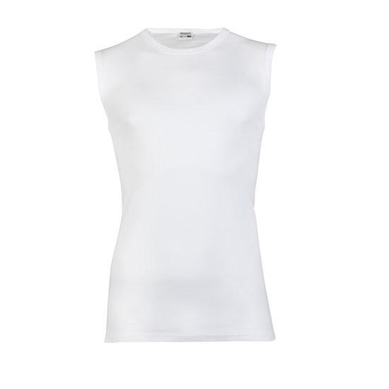 Beeren 100% katoen shirt zonder mouw M3000-M-Wit