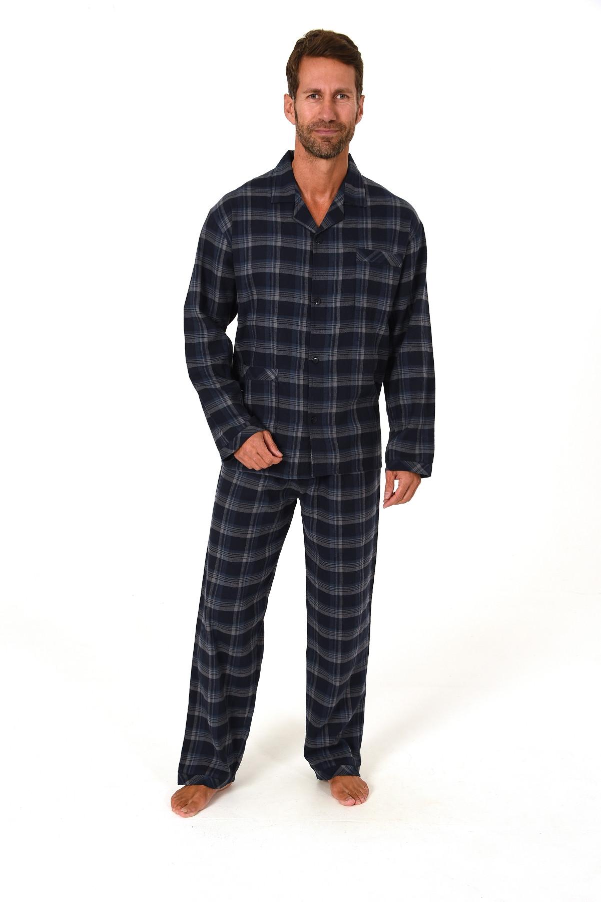 Heren pyjama Flanel 64290-54