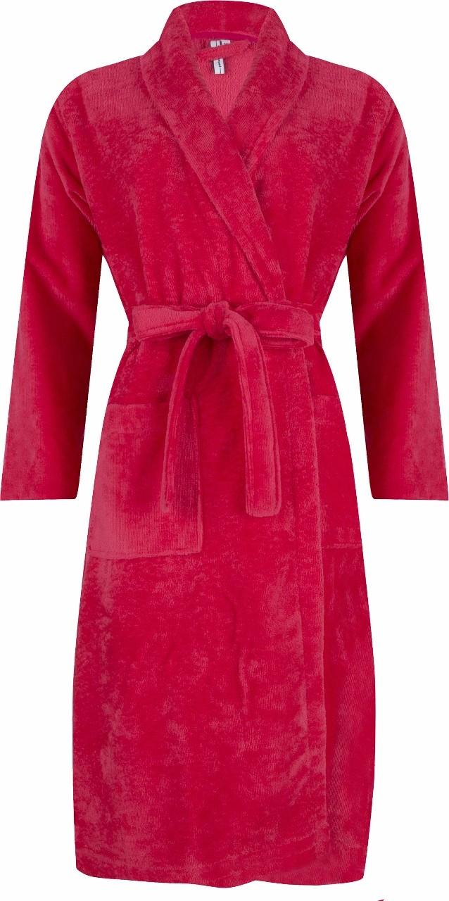 Image of Dames badjas Pastunette 369 coral rood-XL
