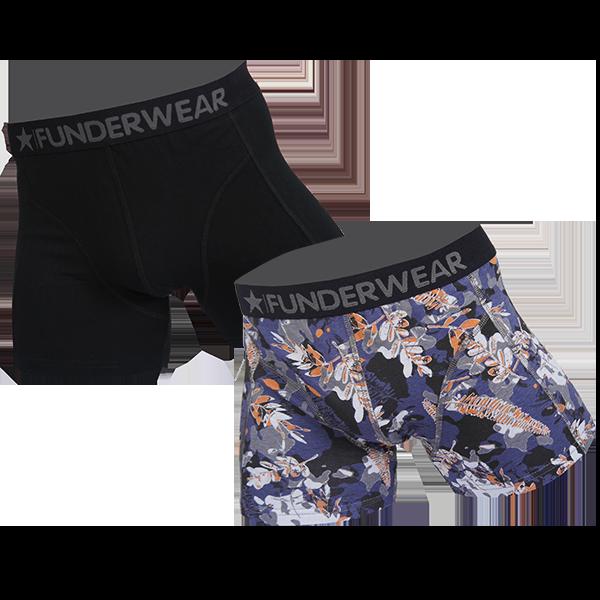 Image of Funderwear 2 pak heren boxer 76019-L
