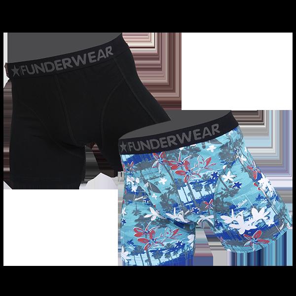 Image of Funderwear 2 pak heren boxer 76020-L