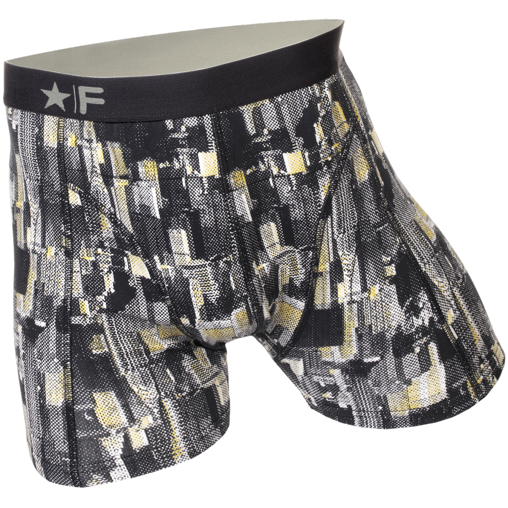 Funderwear heren boxer 76002 Manhattan grey-XXL