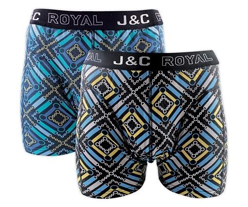 J&C heren boxer 2 pak 30060-M