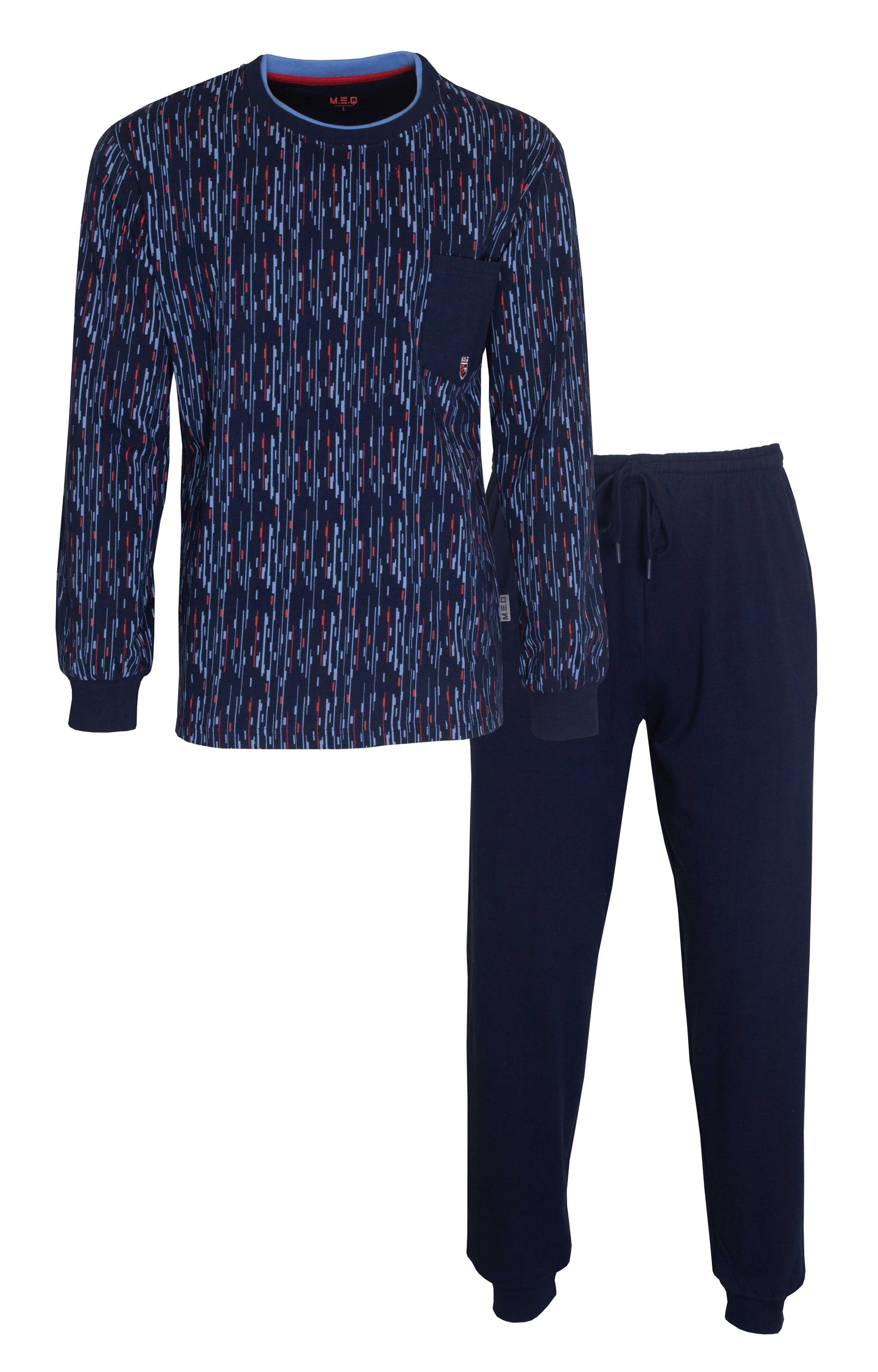 Heren pyjama MEPYH 1107A-S/48