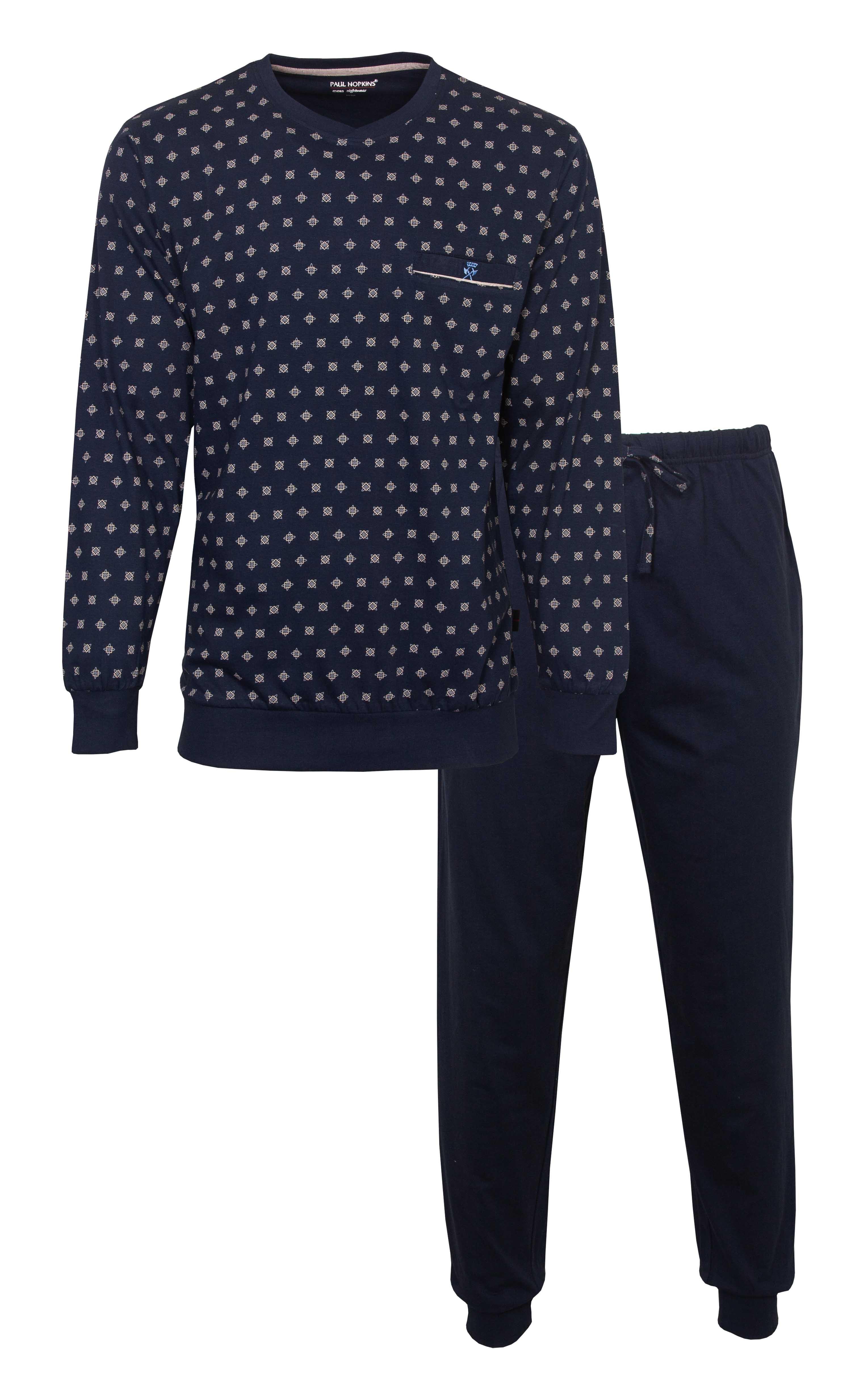 Heren pyjama PHPYH 1101A-3XL/58