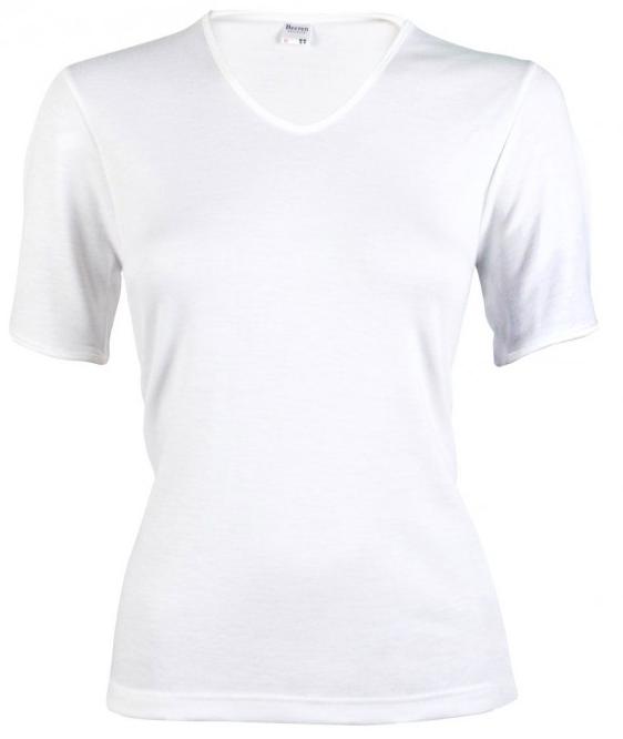 Image of Beeren dames thermo hemd korte mouw-L-Gebroken wit