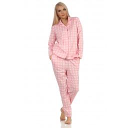 Dames doorknoop pyjama Normann 20190946