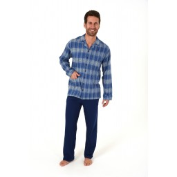 Heren doorknoop pyjama Trend 63671