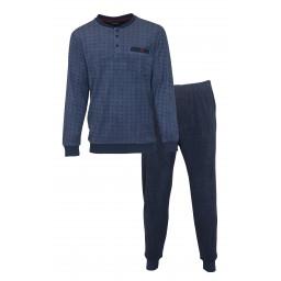 Heren Badstof pyjama PHPYH 2103A