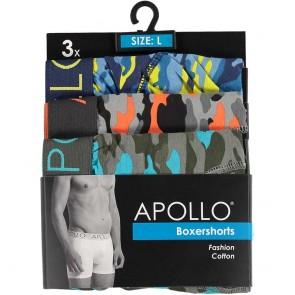 3 pak Apollo herenboxershort 106