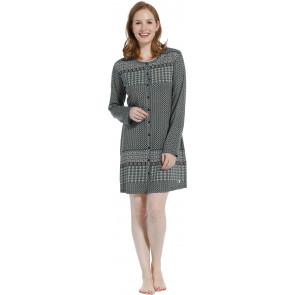 Dames doorknoop nachthemd Pastunette 10202-148-6