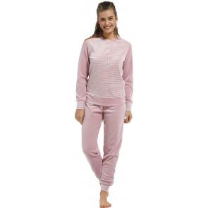 Dames pyjama badstof velours Pastunette 20212-109-4
