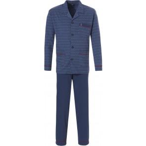 Heren pyjama Robson doorknoop 27192-710-6