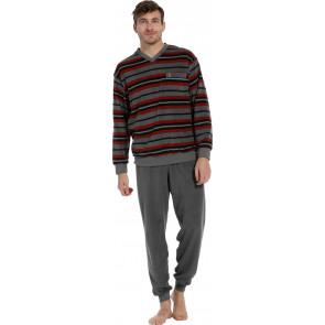 Heren pyjama Robson badstof 27202-711-2 grijs