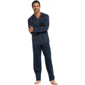 Heren doorknoop pyjama Robson 27211-704-6