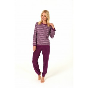 Dames pyjama badstof 59902