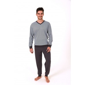 Heren pyjama 100% katoen 59664