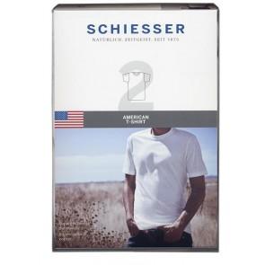 Schiesser 2 pak T shirt ronde hals 8150