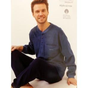 Heren badstof pyjama 431154
