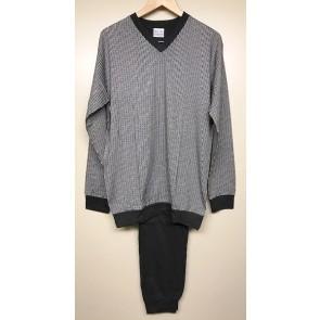Heren pyjama 58658 grijs