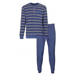 Heren pyjama badstof PH 2916A