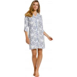 Dames doorknoop nachthemd Pastunette 10211-110-6