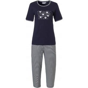 Dames pyjama Pastunette 20211-136-3 blauw
