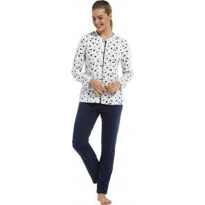 Dames pyjama doorknoop Pastunette 20212-149-6