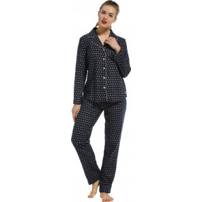 Dames pyjama flanel Pastunette 20212-152-6