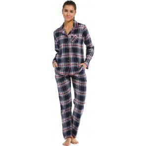 Dames pyjama Rebelle flanel 21212-446-6