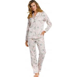 Dames pyjama Pastunette de Luxe satijn 25211-301-6