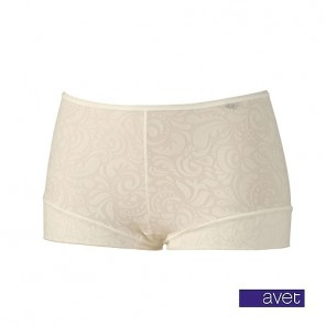 Avet dames short 38963 ivoor