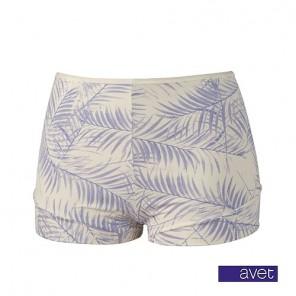 Avet dames short 38964 blauw