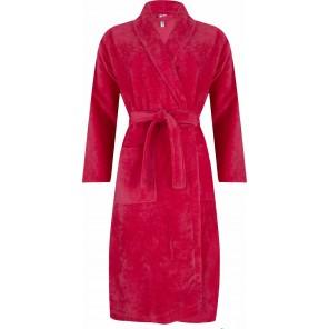 Dames badjas Pastunette 369 coral rood