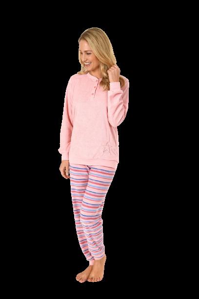 Badstof pyjama dames