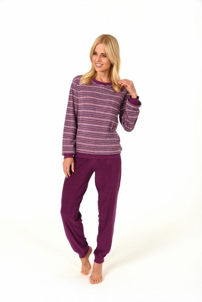 Dames pyjama badstof